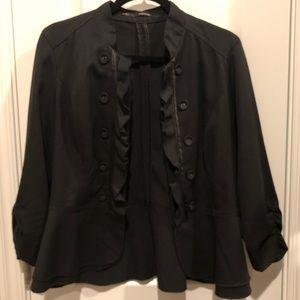 Maurices Women's Black Blazer - size L